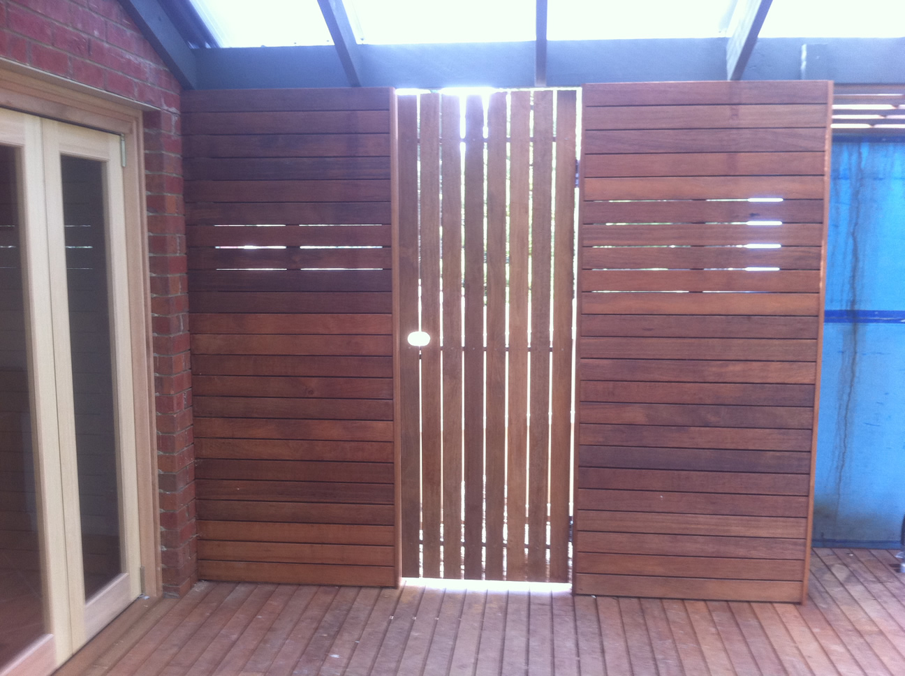 Timber Deck and Privacy Wall