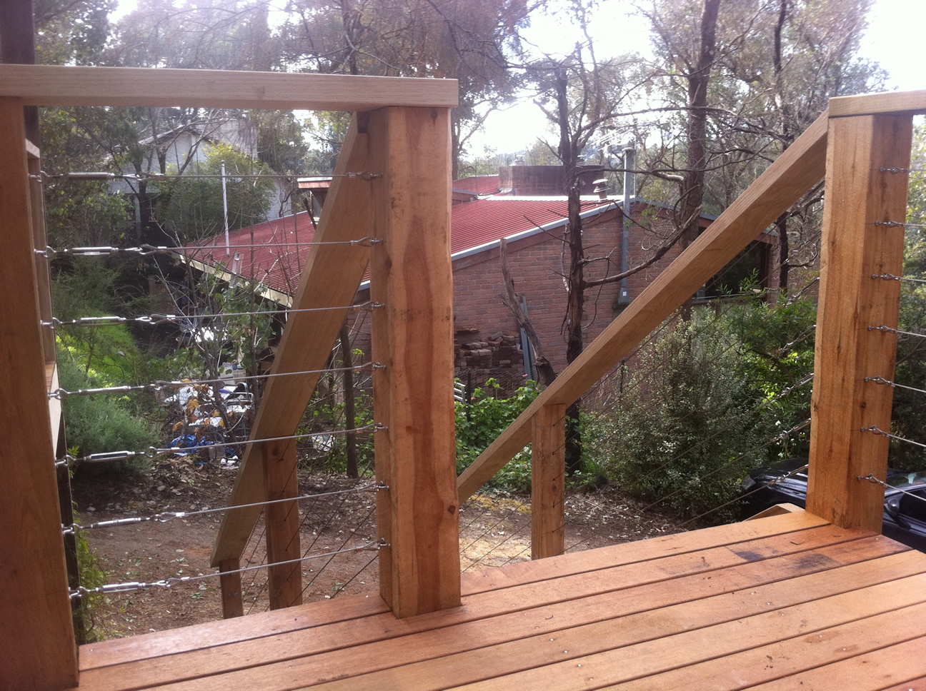 Home Renovation - Timber Handrail