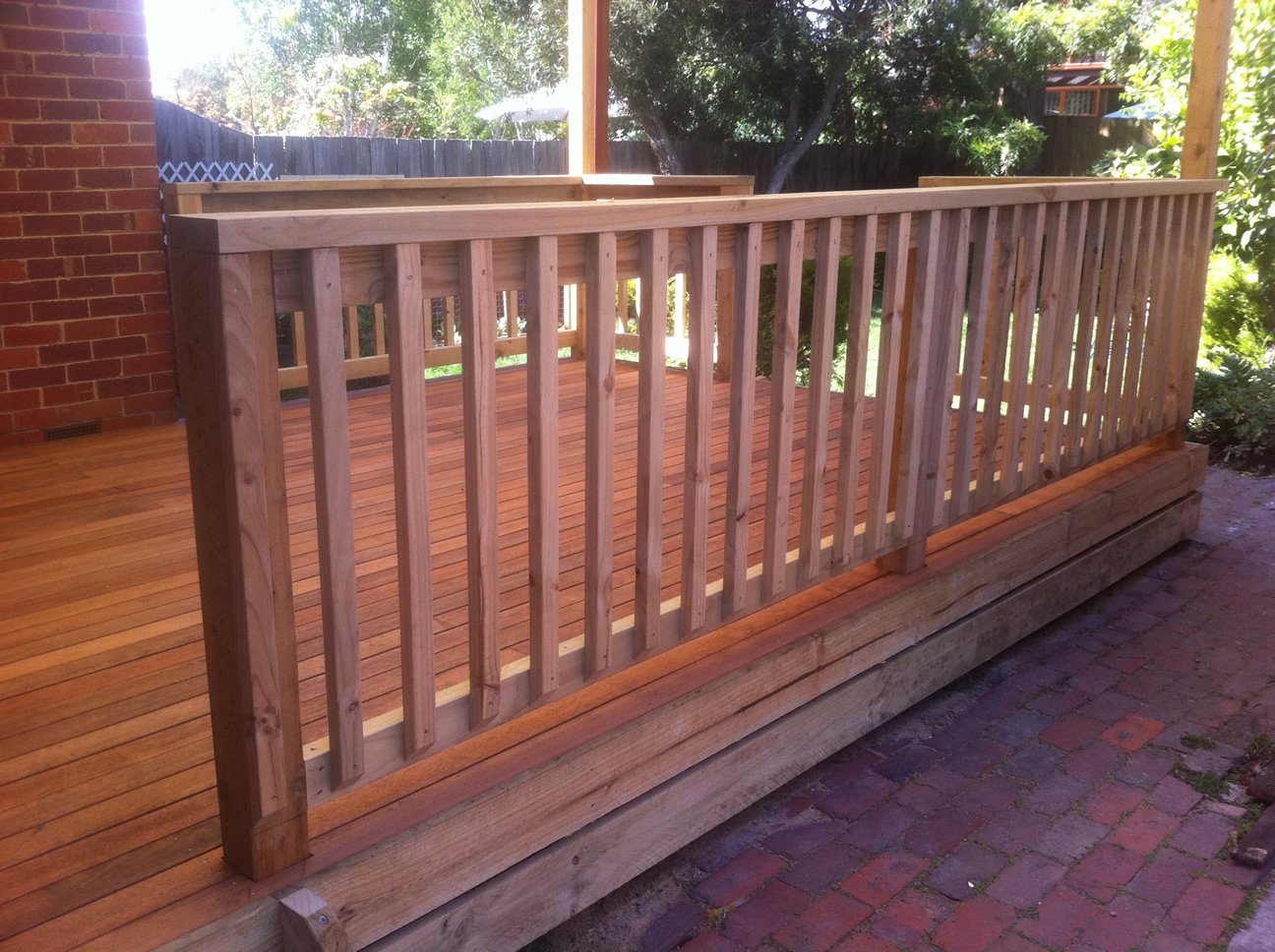 Home Renovation - Deck Railing