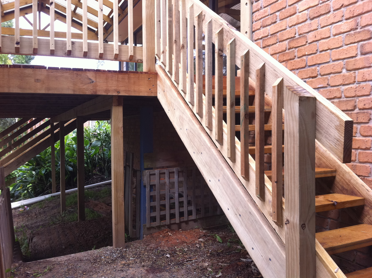 Home Renovation - Timber Steps