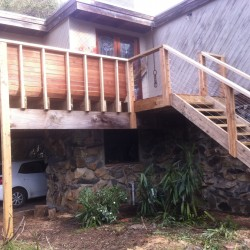 Home Renovation - Deck and Steps