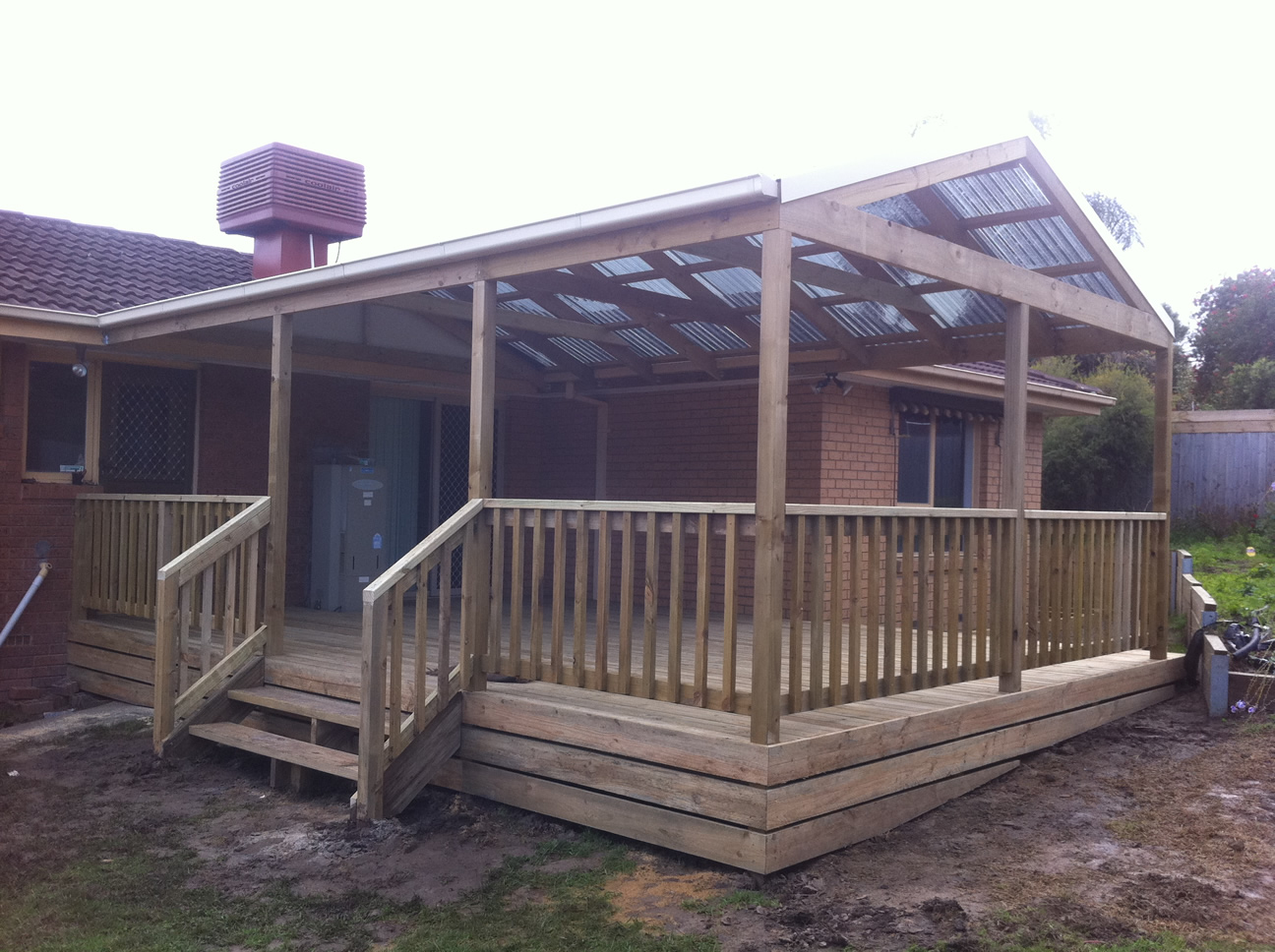 Timber Deck and Steps