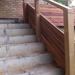 Home Renovation - Timber Handrail
