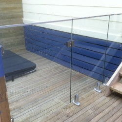 Home Renovation - Glass Railing